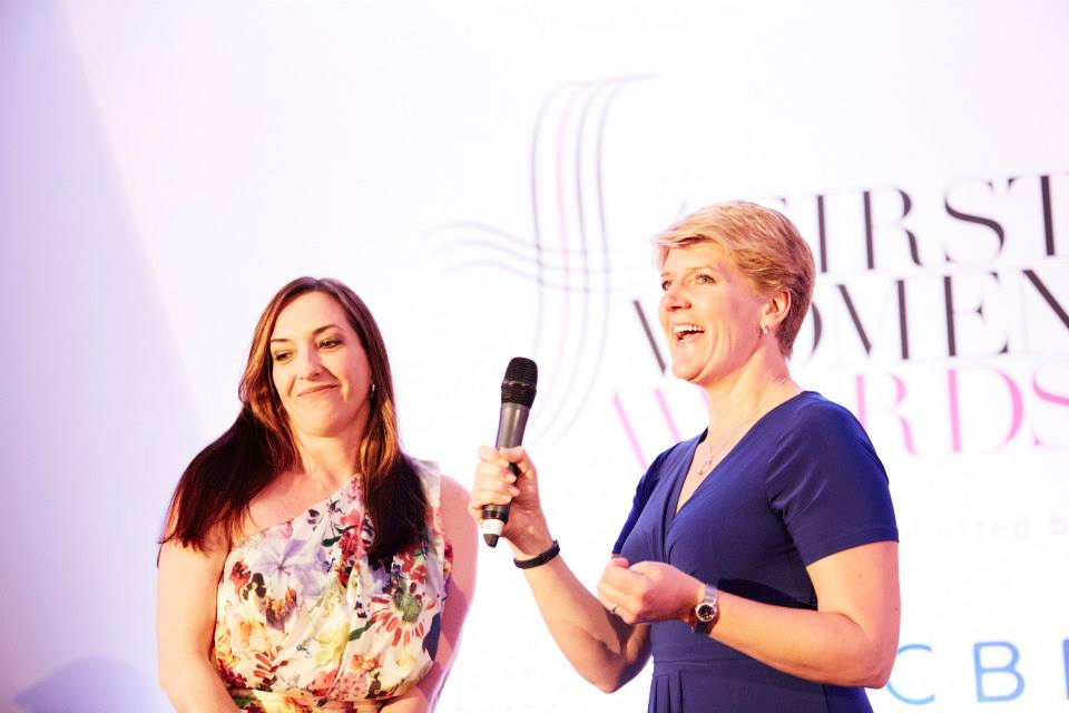 Kate Lester and Claire Balding